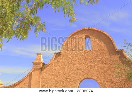 Old Southwest Mission Entrance