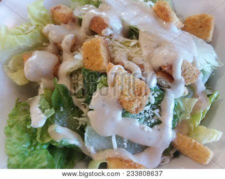 Ceasar Salad - Healthy Food Concept