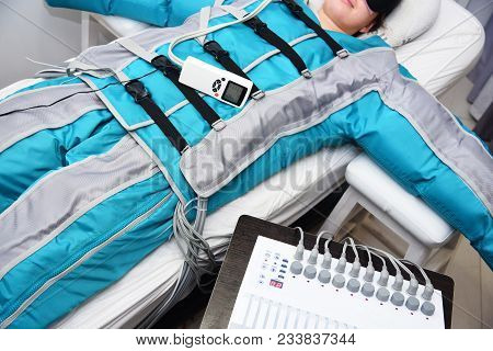 Pressotherapy. Lymphatic Drainage Massage. Hardware Cosmetology. Body Care. Non Surgical Body Sculpt