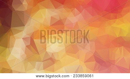 Trangular Trendy Hipster Background For Your Retro Flyer, Stylish Brochure, Poster Background And Vi