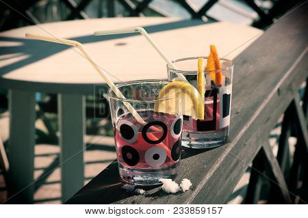 A Typical Drink From Old Times For Mens And Not For Children