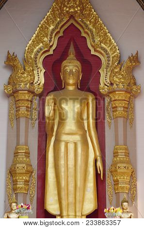 Phra Ruang Worship Of Buddhist Thai People And Famous Place In Thailand