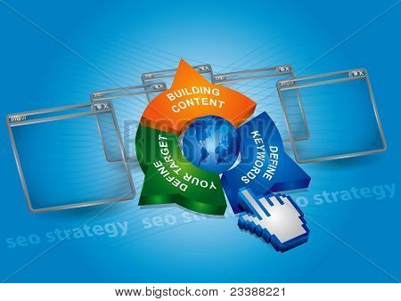 Seo Strategy - Communication Concept