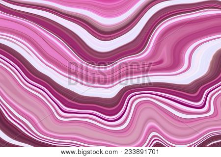 Colorful Paintings Of Marbling, Pink Marble Ink Pattern Texture Abstract Background. Can Be Used For