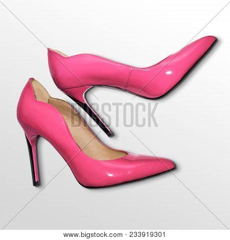 Shoe, Shoes, Pink, Sexy, Heel, High, Heels, Beautiful, Heel, Shoe, Heels,  Sharp, Dangerous, Isolate