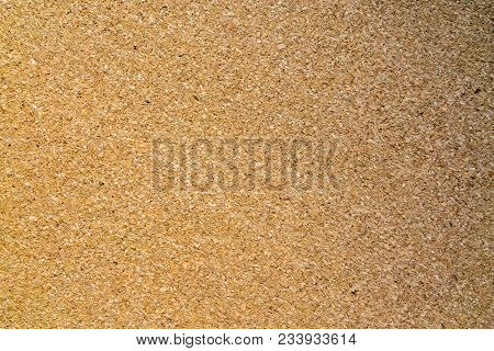 Cork Texture, Cork Borad Or Notice Board. Close Up Background And Texture Of Cork Board Wood Surface
