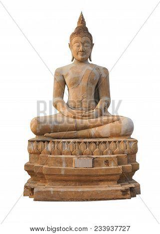 Buddha Statue Buddha Image Isolated On White Background