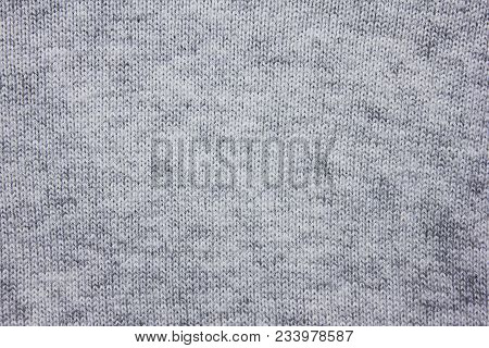 Gray Texture Background Of Dark Grey Cloth Surface. Fabric Material Design Empty Backdrop, Stylish F