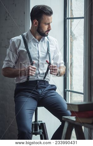 Stylish Confident Man