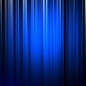 A background illustration of blue vertical lines. poster