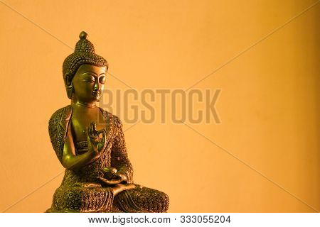Statue Of Lord Gautama Buddha In Buddhism