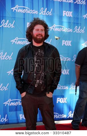 LOS ANGELES - MAY 23:  Casey Abrams arrives at the