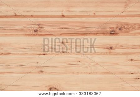 Light Rustic Wood Texture Background. Wooden Surface With Natural Pattern. Log Facade Of The House C