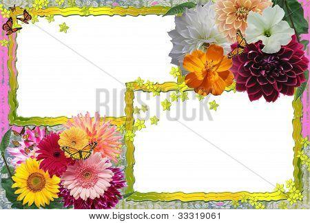 Flowery Frame