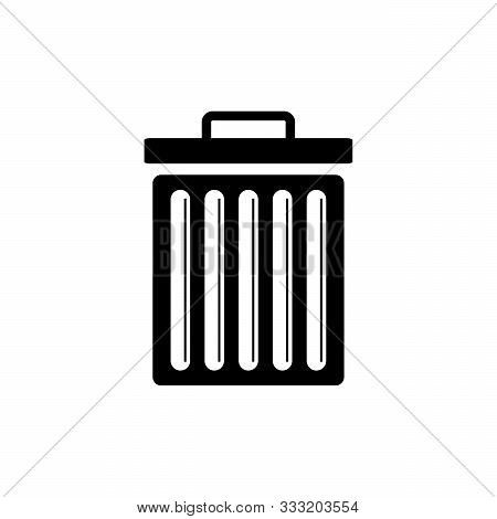 Save Download Preview Trash Icon Isolated On White Background From Photography Collection.