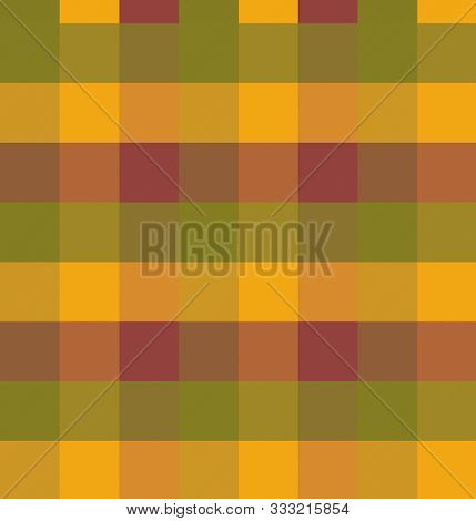 Thanksgiving/ Fall Plaid In Vector Format.