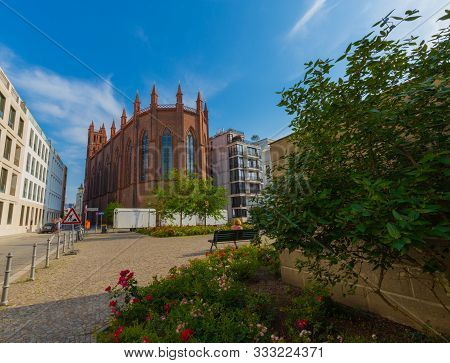 First Neo-gothic Church Built In Berlin, Germany.