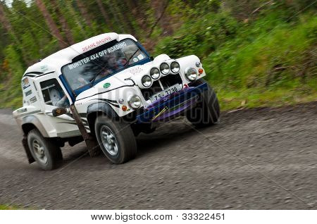 Land Rover Tomcat Rally
