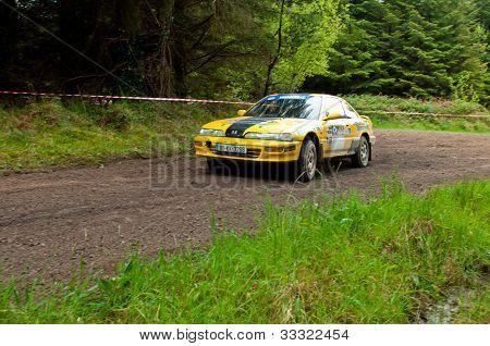 C. Butler Driving Honda Integra