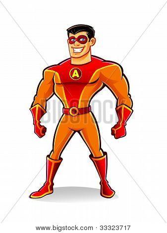 Handsome Superhero