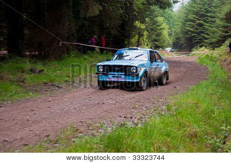 J. Coleman Driving Ford Escort