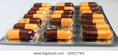 Tablets in bubble pack