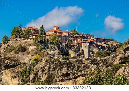 The Holy Monastery Of Great Meteoron - Meteora, Greece, Europe