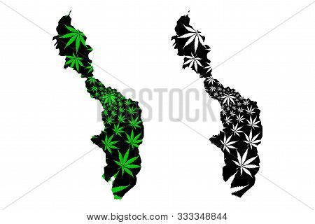 Bolivar Department (colombia, Republic Of Colombia, Departments Of Colombia) Map Is Designed Cannabi