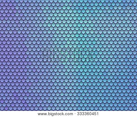 Abstract Scale Pattern. Roof Tiles Background. Color Squama Texture