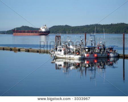 Prince Rupert Harbor Boats