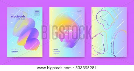 Trance Music Poster. Abstract Gradient Blend. Disco Club Festival. Flow Shape. Pink Techno Music Poster. Pastel Abstract Gradient Shape. Disco Club Event. Dj Party. Electro Music Poster. poster