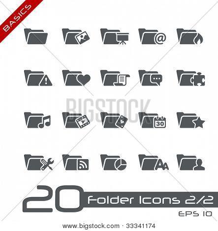 Folder Icons - 2 of 2 // Basics