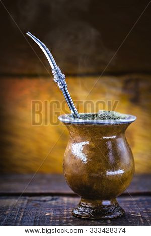The Mate, Or Mate, Is A Characteristic Drink Of Southern South American Culture. It Consists Of A Go