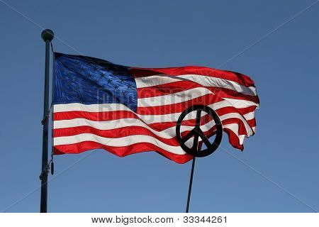 Stars, Stripes, and Peace