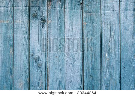 Faded Blue, 1890's Weathered Wood