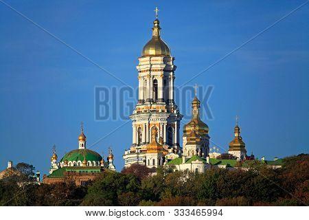 Distinguished Spiritual Center Of Ukraine. Kiev Pechersk (kyiv Pechersk) Lavra Monastery And It's Be