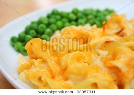 Cheesy Noodle Casserole Dish