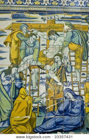 Tiles of the Basilica del Prado de Talavera, Toledo