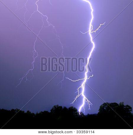 Vibrant Lightning Bolt