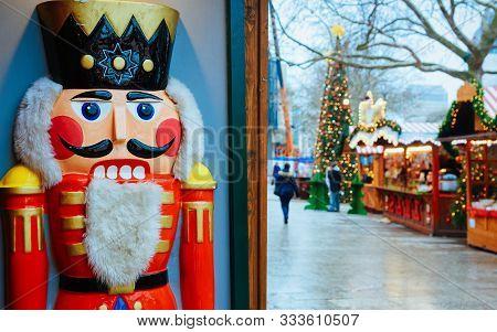 Nutcracker Christmas Market Kaiser Wilhelm Memorial Church Berlin New
