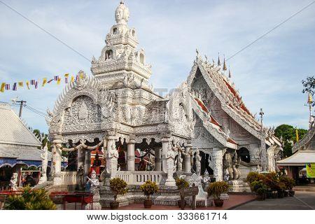 Nan,thailand - July 19,2016  : Wat Ming Muang,nan,thailand