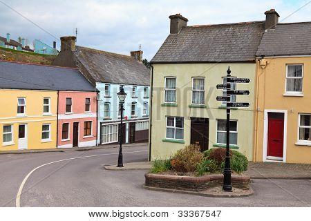 Village In West Cork, Ireland