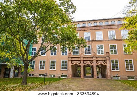 Leipzig, Germany - October 27, 2019: Grassi Museum, Building Complex In Leipzig, Germany, Home To Th