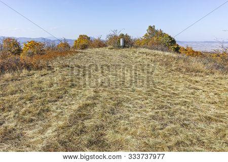 Autumn View Of Cherna Gora (monte Negro) Mountain, Pernik Region, Bulgaria
