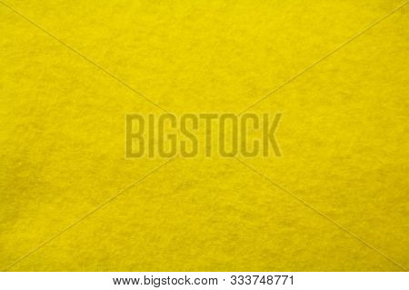 Fleecy Tissue Yellow. The View From The Top. Space For Text
