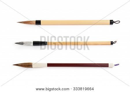 Closeup Writing Brush