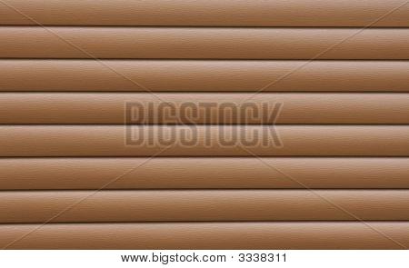 Brown Cedar Siding