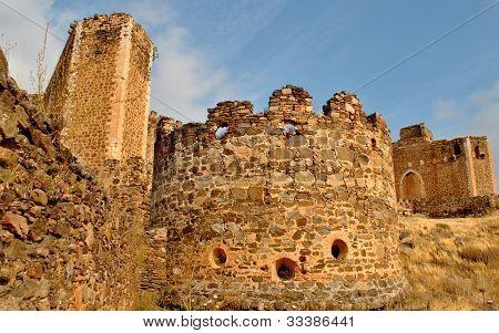 fortification Castle, San Martin de Montalban, Toledo, Spain