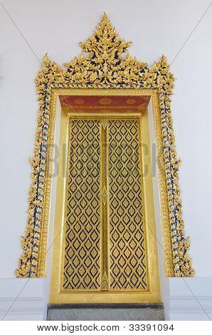 The Door Of The Temple