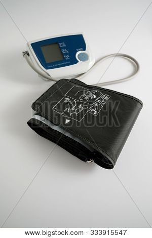 An Implantable Cardioverter Defibrillator Or Icd Pacemaker With Leads And Modem For Telemonitoring A